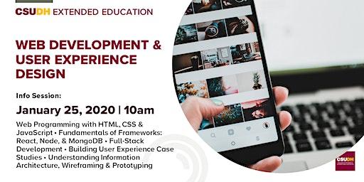 Info Session: Web Development & User Experience Design | CSUDH