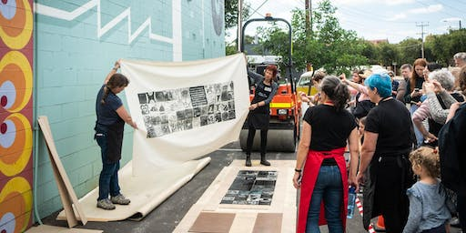 Community Steamroller Print Event