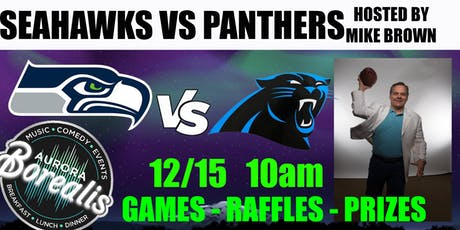SEAHAWKS v PANTHERS hosted by Mike Brown tickets