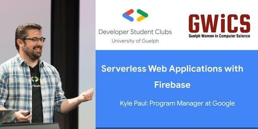 Workshop: Serverless Web Applications with Firebase