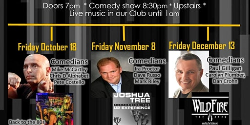 Russo on the Road - Comedy & Music Series December 13th