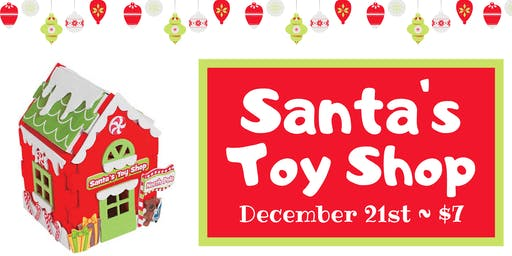 Kids Craft: Santa's Toy Shop
