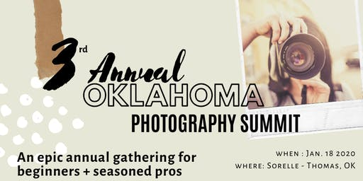Oklahoma Photography Summit 2020