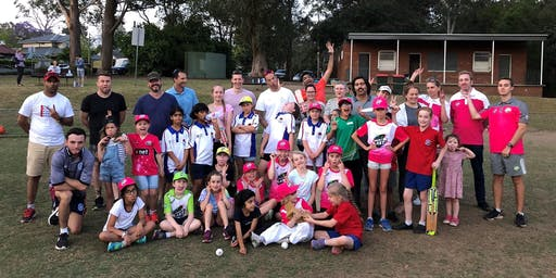 Sixers Girls Cricket League Volunteer Recognition