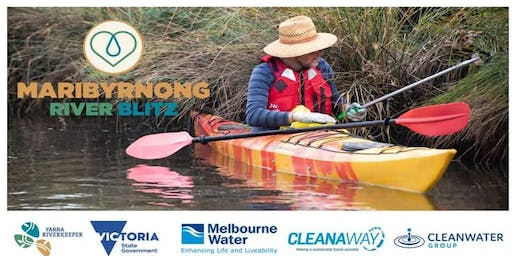 Eco warriors! Join the YRD for the Maribyrnong River Blitz cleaning event