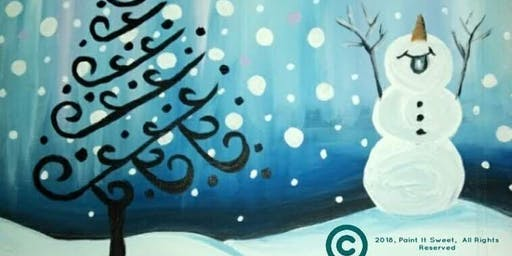 Holiday Paint N' Sip