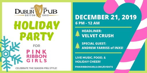 Dublin Pub Holiday Party for Pink Ribbon Girls