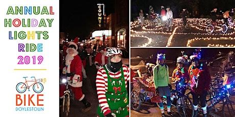 Doylestown Holiday Lights Bike Ride 2019 tickets