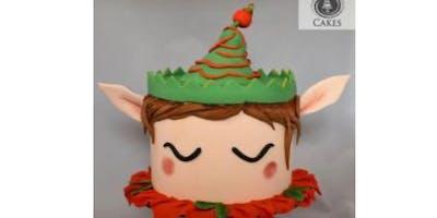 Elf ***** cake decorating class