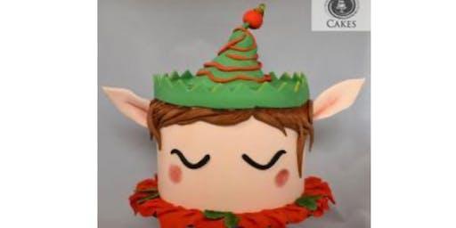 Elf Adult cake decorating class