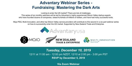 Advantary Webinar Series - Fundraising: Mastering the Dark Arts tickets
