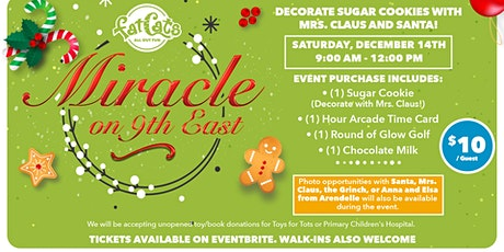 Miracle on 9th East tickets