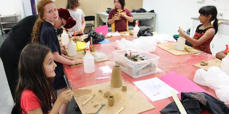 Art After School - Clay Sculpting Exhibition Celebration tickets