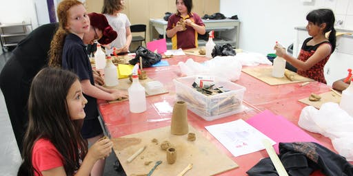 Art After School - Clay Sculpting Exhibition Celebration