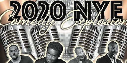 2020 New Year's Eve Comedy Explosion Show featuring NYE countdown.
