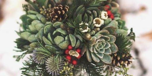 Create  Christmas Centerpiece