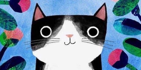Cat Portrait painting workshop tickets