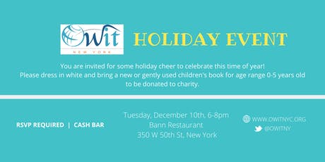 OWIT New York Holiday Event tickets