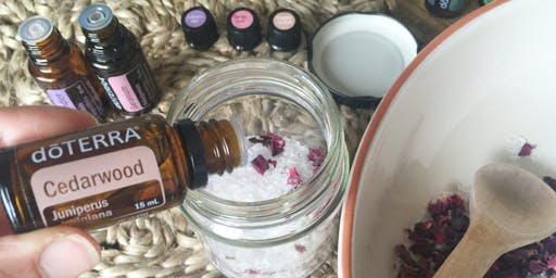 Make your own Christmas Gifts with essential oils