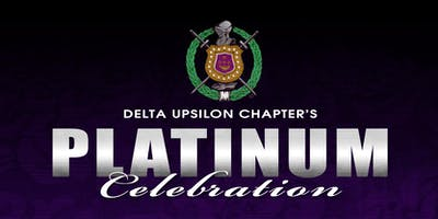 Delta Upsilon Chapter Platinum Celebration
