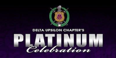 Delta Upsilon Chapter Platinum Celebration