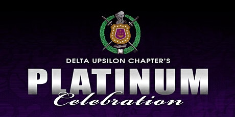 Delta Upsilon Chapter Platinum Celebration  tickets