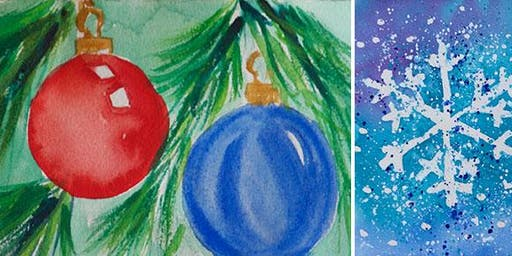 Holiday Art Sale and Free Holiday Card Making Class