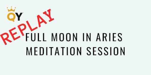 REPLAY of LIVESTREAM Full Moon Meditation Session