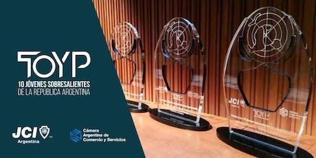 Ceremonia de Premiación | JCI TOYP Argentina 2019 entradas