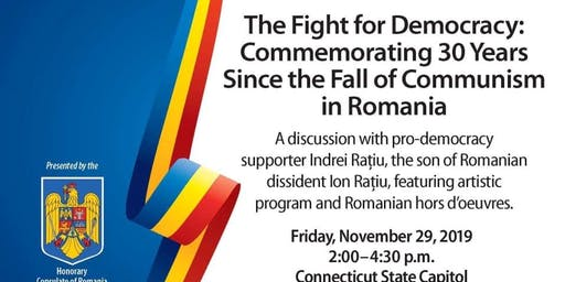 The Fight for Democracy – Commemorating 30 Years Since the Fall of Communism in Romania