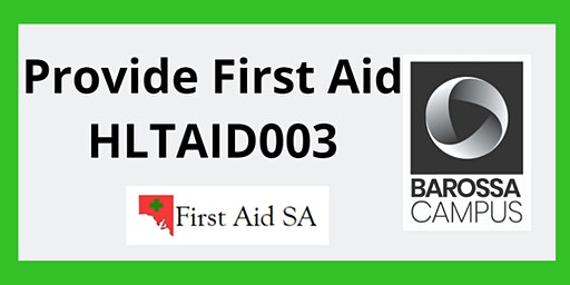 First Aid Training at Barossa Campus