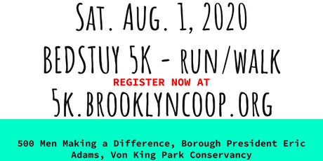 6th Annual Bed Stuy 5K Run/Walk tickets
