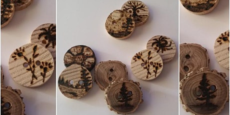 Making Wooden Buttons billets