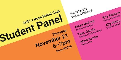 RRC x SHEI Student Panel