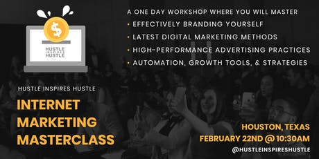Internet Marketing Masterclass tickets
