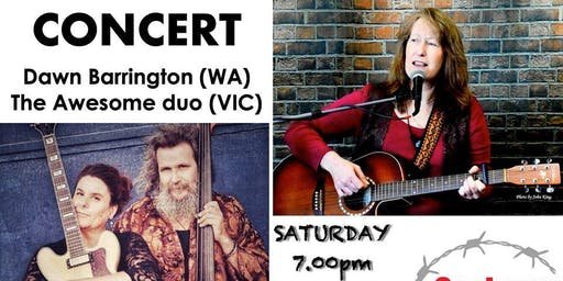 "Concert By Dawn Barrington and Duo ""The Awesome"""