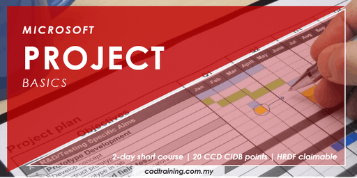 Microsoft Project Basics | 2-day Short Course | 20 CCD CIDB points