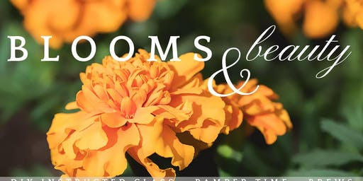 Blooms + Beauty: A DIY Floral Class and Time to Pamper Yourself