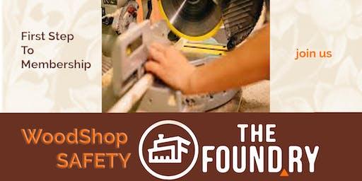 February Woodshop Safety Class
