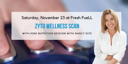 ZYTO Wellness Body Scans at Fresh FueLL