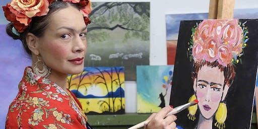 Paint Like Frida Kahlo (Dine In)