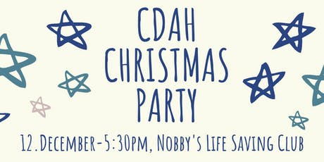 CDAH Catch Up Crew Christmas Party 2019 tickets