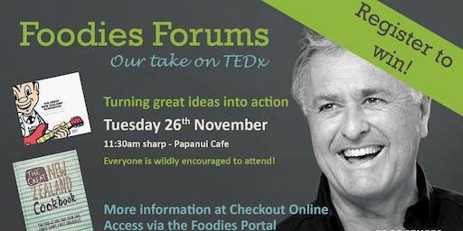 Foodies Forum - Murray Thom