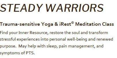 Copy of Steady Warriors Trauma-sensitive Yoga and iRest© Meditation Class