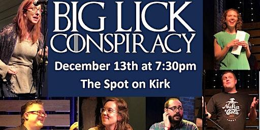 Big Lick Conspiracy at The Spot!