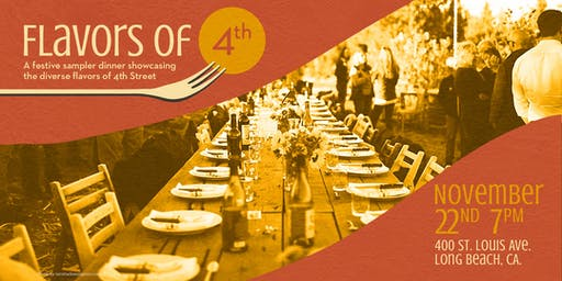 Flavors of 4th : A Festive Community Long-Table Dinner