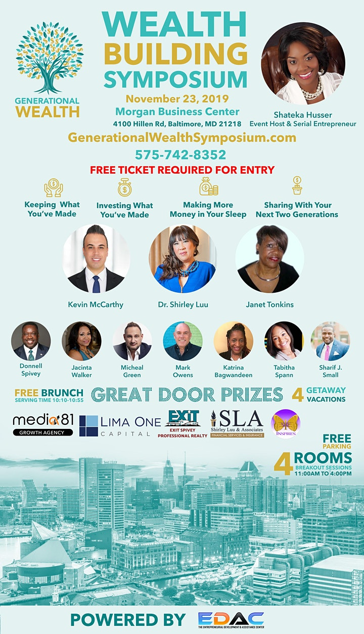 Successful Business Leaders Unite to Give Back to the Baltimore Community image