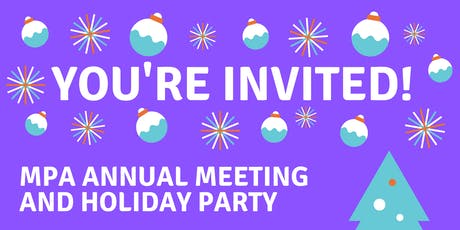 MPA Annual Meeting and Holiday Party 2019 tickets
