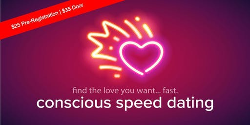CONSCIOUS SPEED DATING....FIND THE LOVE YOU WANT.....FAST!!!!