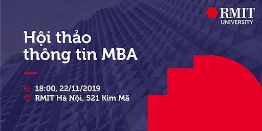 """Hội thảo MBA & Business talk """"Quyền lực mềm trong tạo dựng mối quan hệ"""""""